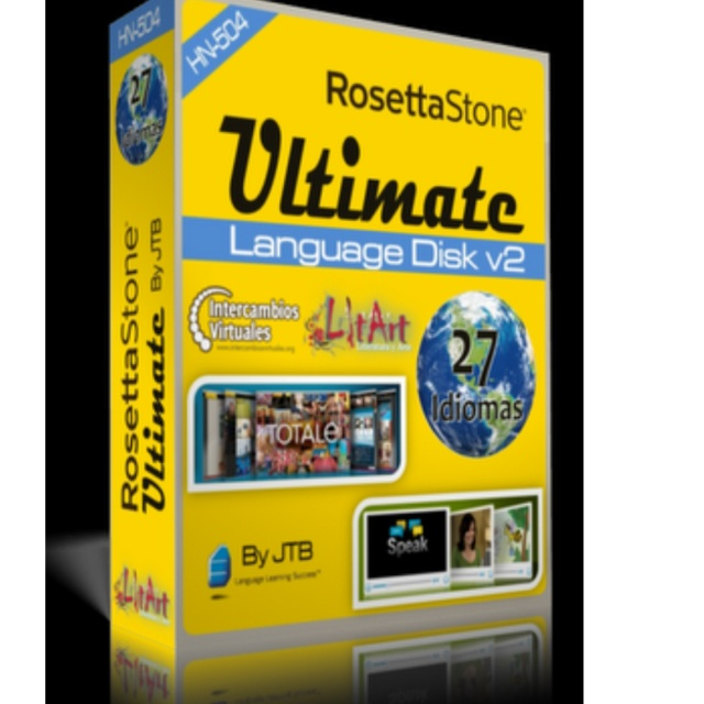 Rosetta stone ultimate language disk v2.1
