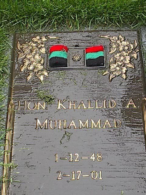 Elijah Muhammad Grave